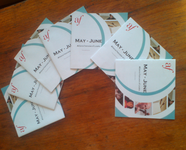 Alliance Francaise Brochures